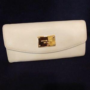 Michael Kors Leather Envelope Wallet